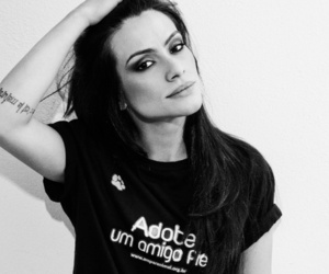 black and white, famous, and cleo pires image