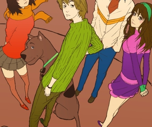 anime and scooby doo image