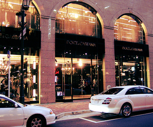 luxury, car, and shop image