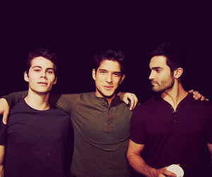 dylan o'brien, tyler posey, and tyler hoechlin image