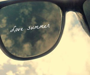 summer, love, and sunglasses image