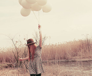 balloons, lace up boots, and black shoes image