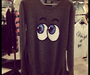 fashion, clothes, and eyes image