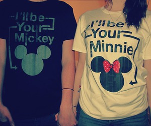 cute, mickey, and minnie image