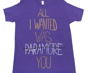 paramore, text, and all i wanted image