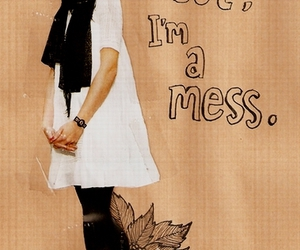 mess, art, and Collage image
