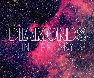 diamond, sky, and rihanna image