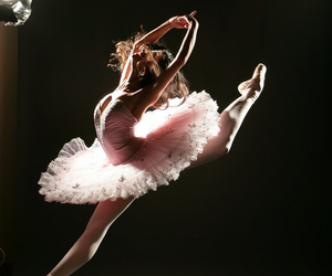 ballet, beautiful, and girl image