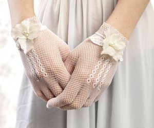 gloves and lace image
