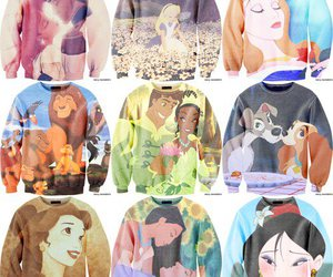 disney, sweater, and princess image