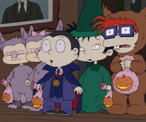 rugrats and Halloween image