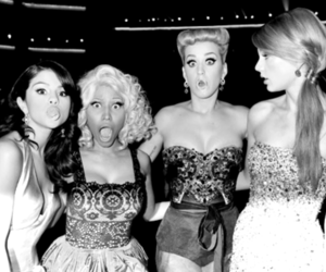 selena gomez, katy perry, and Taylor Swift image
