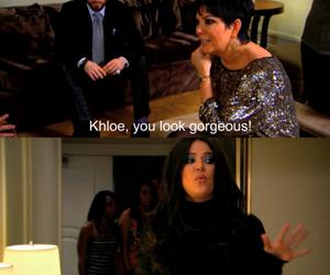 khloe kardashian, funny, and kardashian image