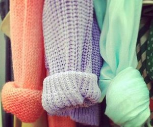 colorful, shirt, and sweater image