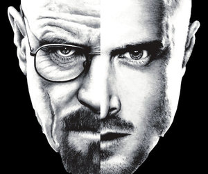 breaking bad, jesse, and walt image