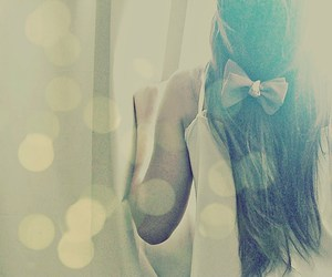 beauty, bow, and girly image