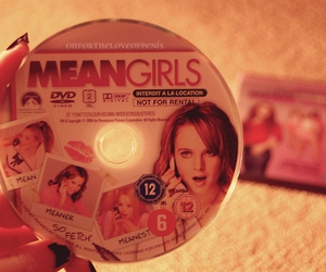 dvd, lilo, and mean girls image
