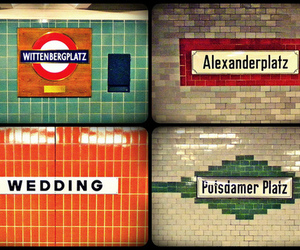 alexanderplatz, underground, and cool image