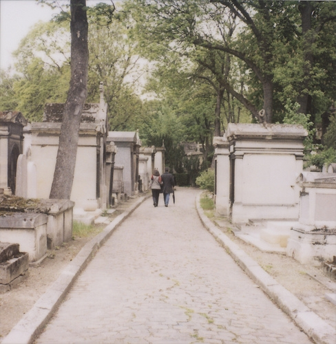 cemetery, paris, and pere lachaise image