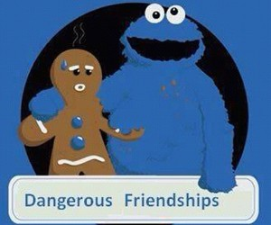 friendship, dangerous, and cookie monster image