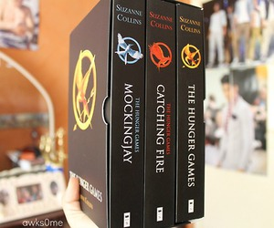 hunger games, hdhd, and hunger games trilogy image