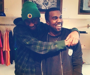 kanye west and tyler the creator image