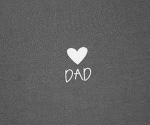dad, love, and heart image
