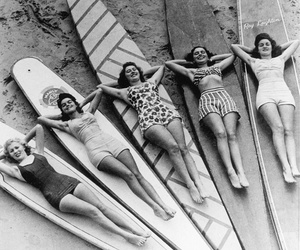 surf, vintage, and beach image