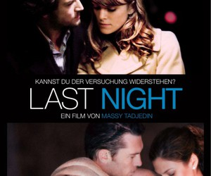 last night, movie poster, and keira knightley image