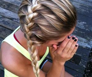 awesome hair, braids, and hairstyle image