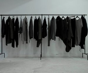 clothes, black, and black and white image