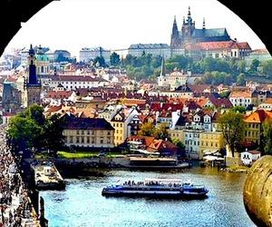 travel, city, and Praga image