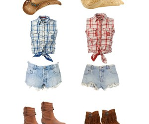 boots, country, and hat image