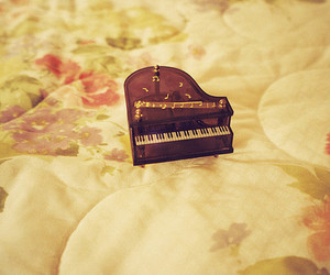 piano, cute, and music image
