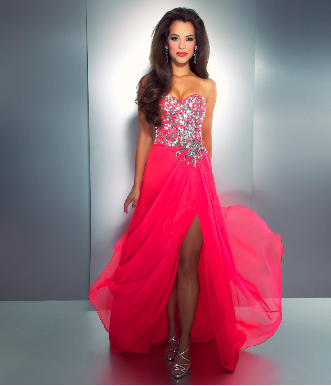 eb6f94f7018 Bright Pink Evening Dresses - Data Dynamic AG