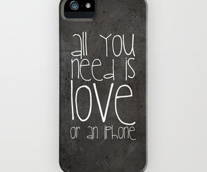 black, i want, and iphone image