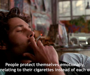 cigarette, people, and quote image