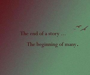 quote, story, and beginning image