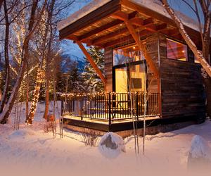 beautiful, lights, and winter image
