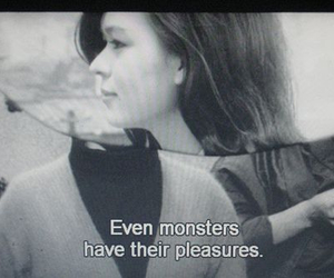 monster, quote, and girl image