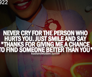 quote, text, and cry image