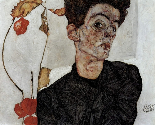 egon schiele, art, and painting image