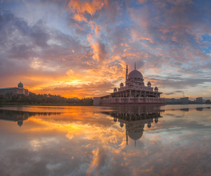 architecture, asia, and dawn image