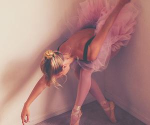 ballerina, ballet, and girl image