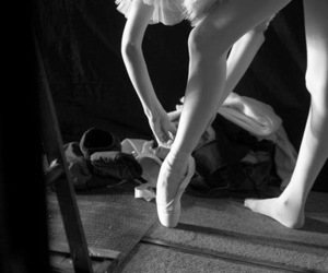 ballet, backstage, and ballerina image