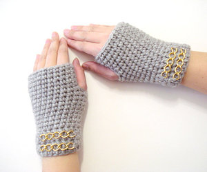 fashion, fingerless, and gifts image