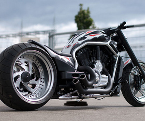 biker, chopper, and phantom image