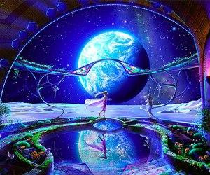 celestial exploring, kagaya yutaka, and kagaya art image