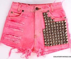 pink, shorts, and short image