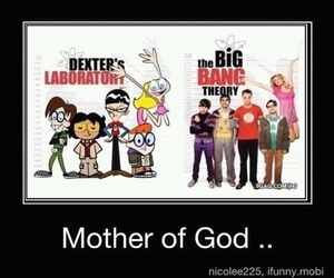 the big bang theory, Dexter, and dexter's laboratory image